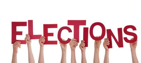 political system: Muchas Manos que sostienen las Elecciones Red de Word, aislados