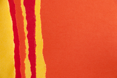 seaonal: Orange, Red and Yellow Paper Texture, Fall Background