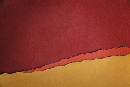 dodgy: Old Paper Texture as Red, Orange and Yellow Background Stock Photo