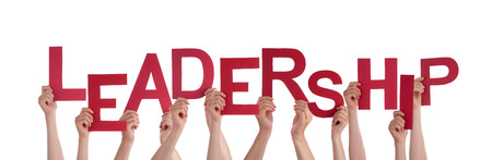 projekt: Many Hands Holding the Words Leadership, Isolated