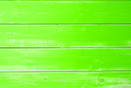 Intense Green Wooden Background, Copy Space