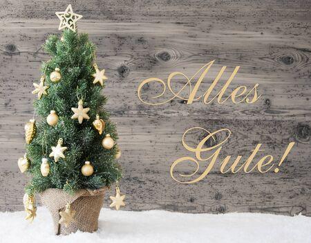 Weihnachtsbaum Der Guten Wünsche.Frohe Weihnachten Beste Wünsche Tannenbaum Inschrift Lizenzfreie