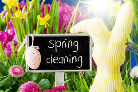 봄 꽃, 부활절 훈장, 봄 청소
