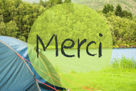 Lake Camping, Merci Means Thank You, Norway Landscape 版權商用圖片