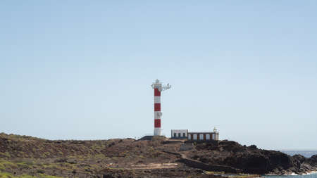 great lighthouse on the coast of Tenerife