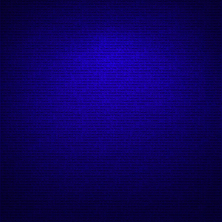 dark blue tech background, numbers texture photo