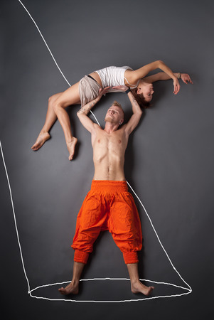 all love: couple dancing. love story set. all images in this series see my portfolio Stock Photo