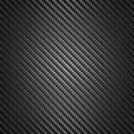 Carbon Fiber texture. black background