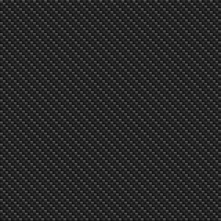 シームレスな炭素繊維のテクスチャです。黒の背景 写真素材