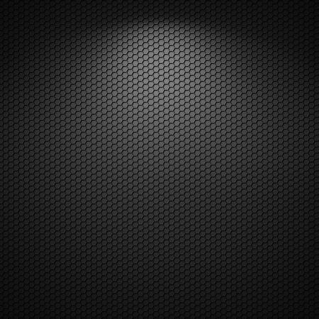 Black background of circle pattern texture Reklamní fotografie