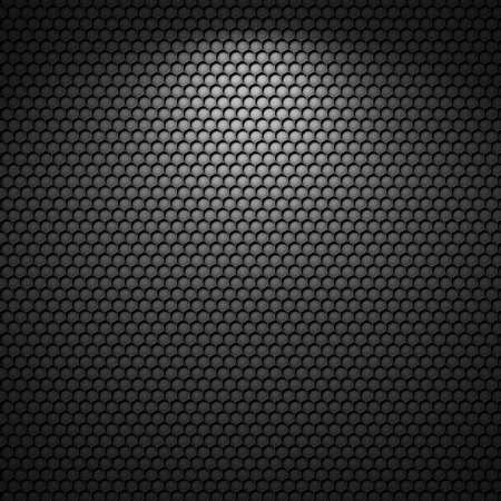Black background of circle pattern texture Banque d'images