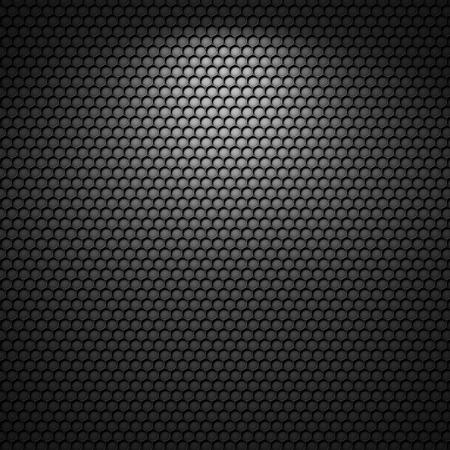 Black background of circle pattern texture Standard-Bild