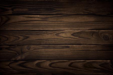 古い木材のテクスチャ、暗い背景