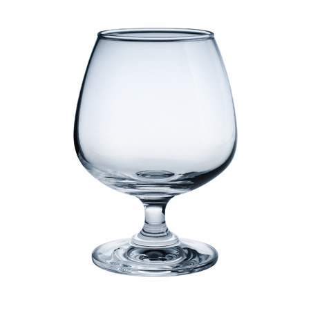 goblet: Brandy goblet isolated on white background