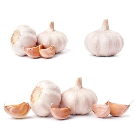 garlic: Garlic isolated on white background