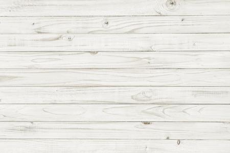 minable: Vintage blanc table en bois vue de dessus. fond en bois