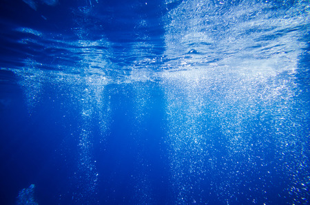 Abstract underwater deep blue backgrounds