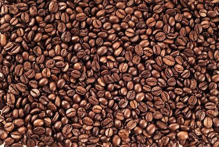 coffee beans texture background Reklamní fotografie