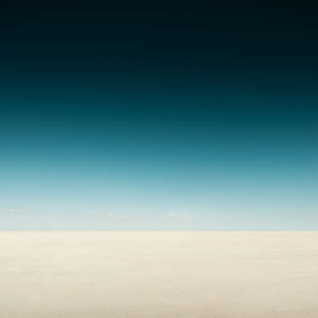 wasteland: Desert landscape with dark sky