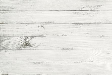 Vintage blanc table en bois vue de dessus. fond en bois Banque d'images - 34786195