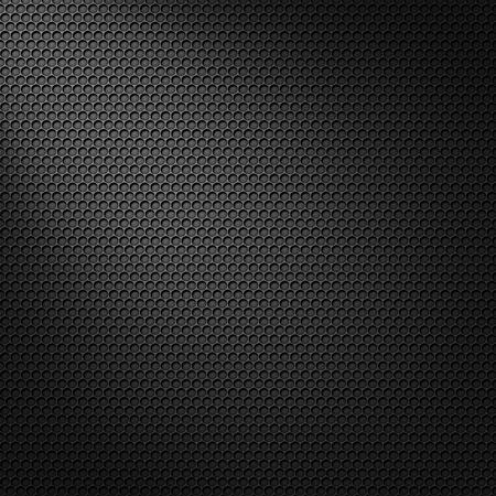 Patrón de carbono celular negro con máscara de la luz de punto Foto de archivo