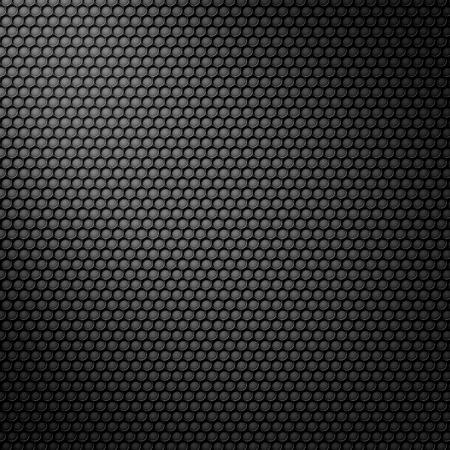 fibra de carbono: Patr�n de carbono celular negro con m�scara de la luz de punto Foto de archivo