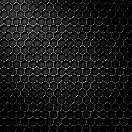 Black cell carbon pattern with spot light mask Banque d'images