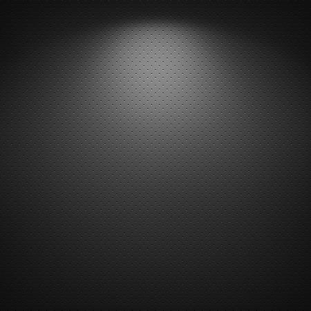 Black background of circle pattern texture photo