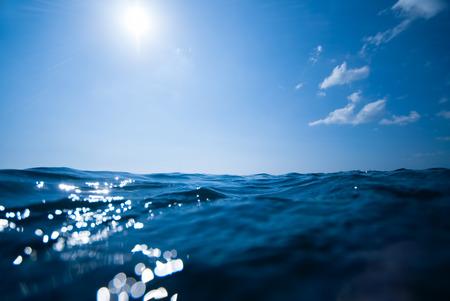 수중과 하늘 배경 스톡 콘텐츠