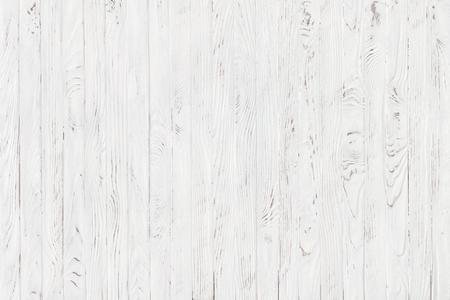 Tablón de madera blanca de textura, fondo rústico luz Foto de archivo - 71383336