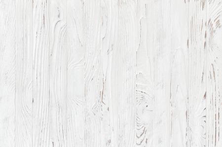 Bia? E drewniane deski tekstury,? Wiat? A rustykalnym tle