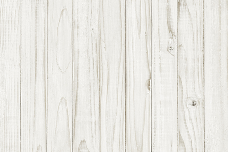 Vintage white wooden table background top view