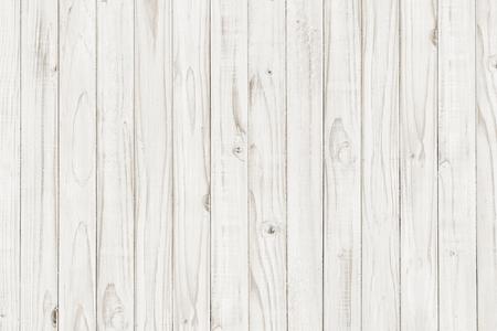 Vista frontale della priorità bassa della tabella di legno bianca dell'annata Archivio Fotografico - 75384064