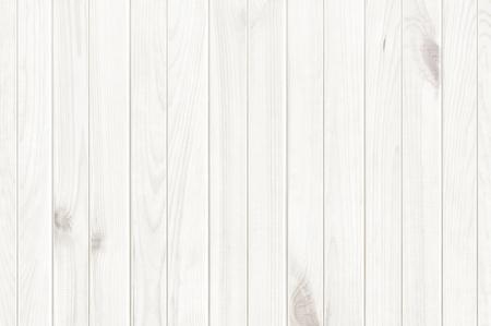 白のウッド テクスチャ背景、木製のテーブル トップ ビュー 写真素材