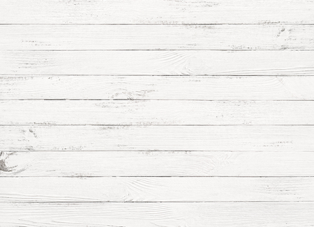 white wooden table background top view