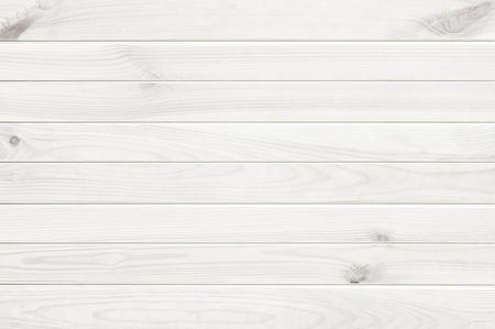 Witte houten textuur achtergrond, houten tafel bovenaanzicht