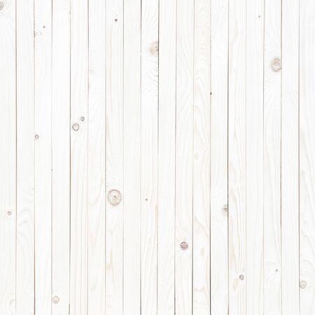 Fondo de textura de madera blanca, vista superior de la mesa de madera