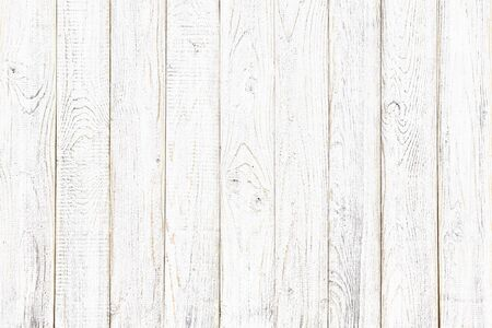 wood texture, old wood board pattern, white background with copy space Standard-Bild - 141595462
