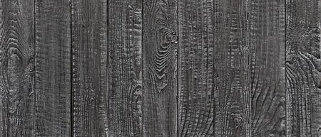 dark wood texture background, wide wooden plank panel pattern Standard-Bild - 141621545