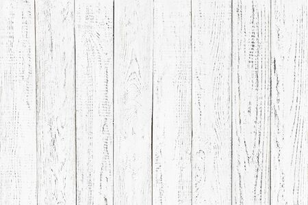 wood texture, old wood board pattern, white background with copy space Standard-Bild - 141621792
