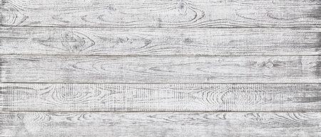 white wood texture background, wide wooden plank panel pattern Standard-Bild - 141621756