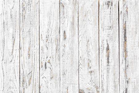 white wood texture background, natural pattern Standard-Bild - 141621759