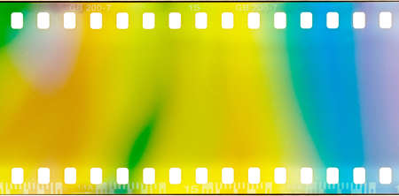film strip texture with light leaks, abstract background