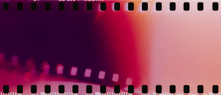 real film strip texture with burn light leaks, abstract background
