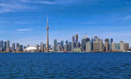 great bay: Toronto Skyline Editorial