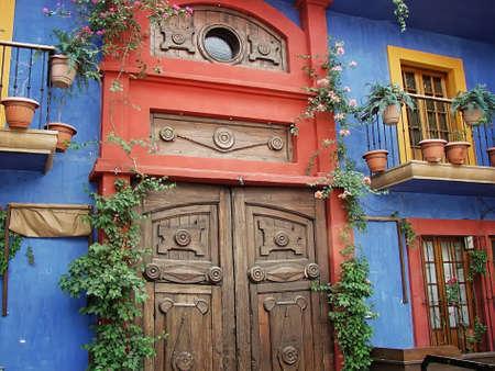 Old city - Monterrey Barrio Antiguo Stock Photo