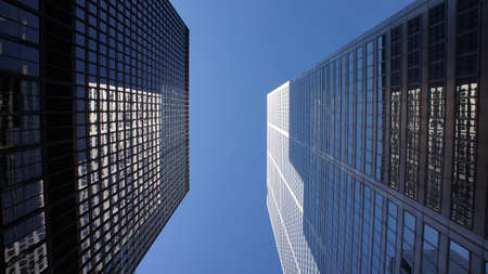 Skyscrapers - Financial center photo