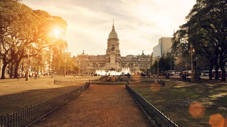 ブエノスアイレスの国民議会 写真素材
