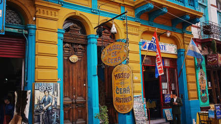 aires: Buesnos Aires, El Caminito district