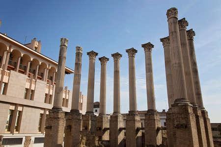 Roman temple: Córdoba, templo restos romanos, Templo Romano